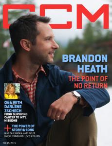 Brandon Heath, Darlene Zschech, CCM Magazine - image