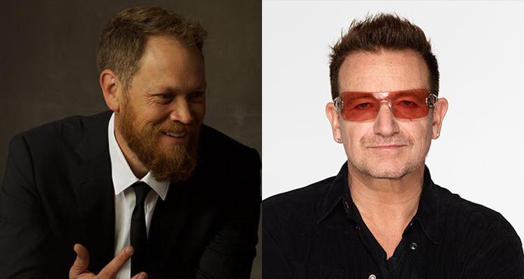 Andrew Peterson, Bono, U2, CCM Magazine - image