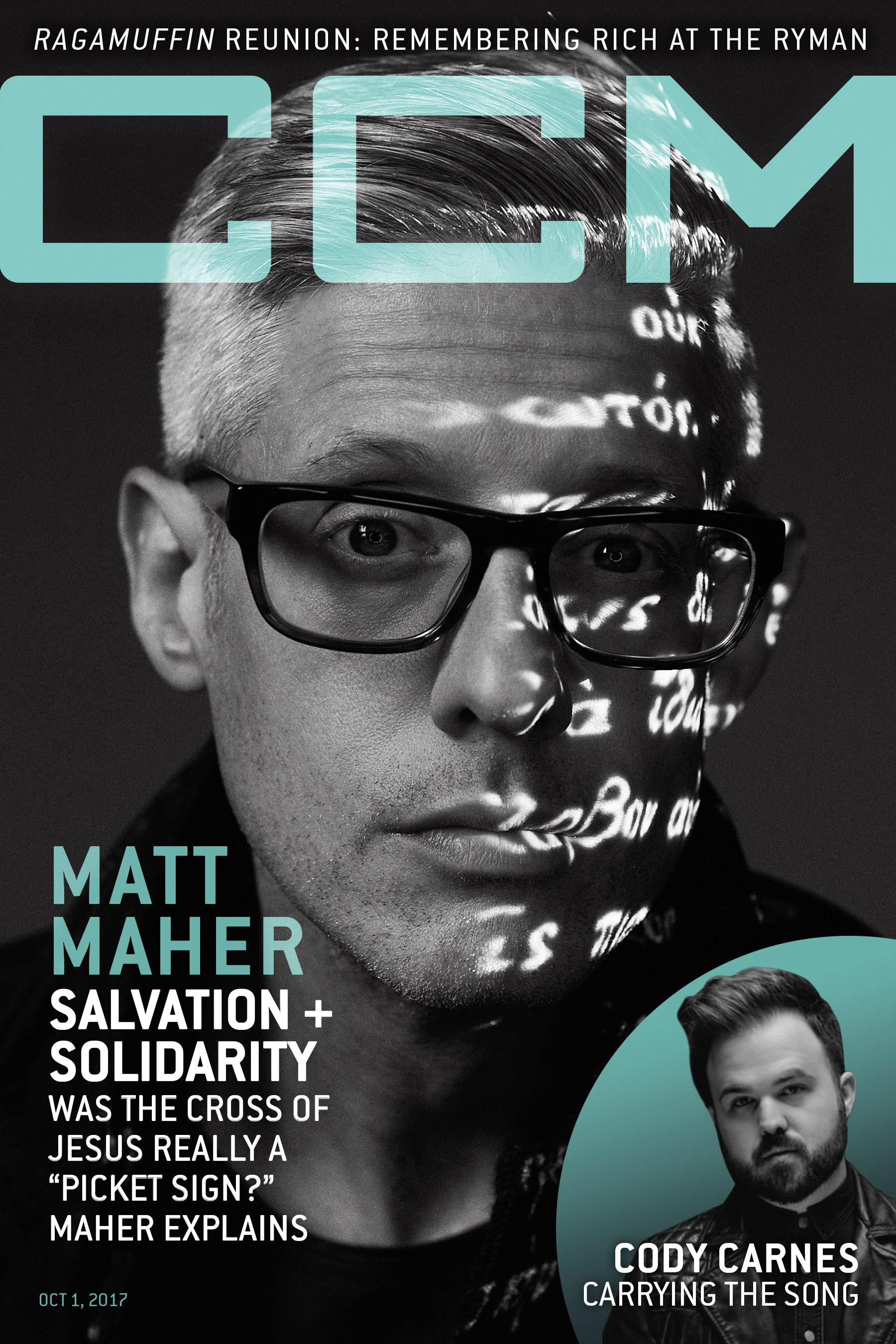 Matt Maher, CCM Magazine - image
