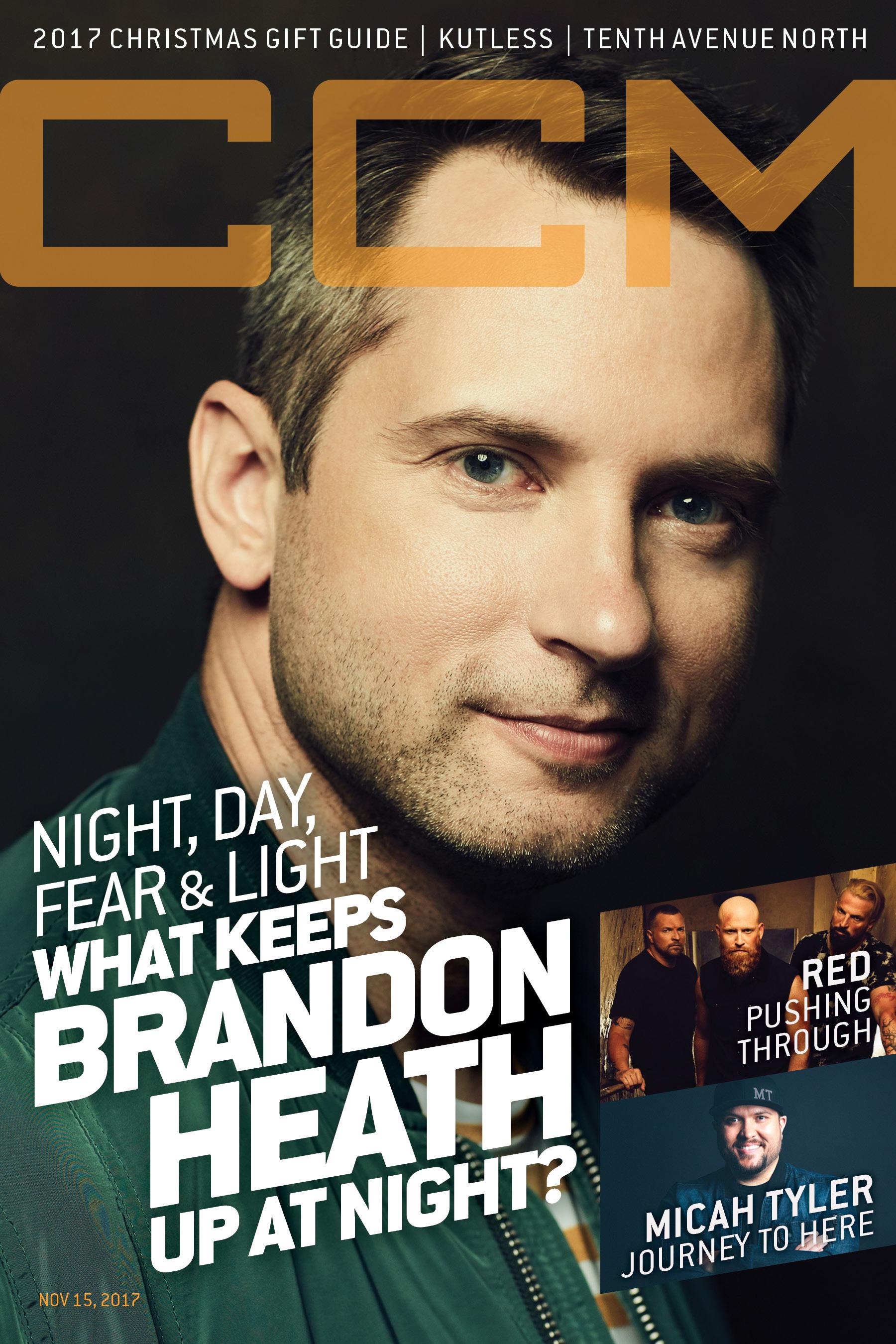 Brandon Heath, CCM Magazine - image
